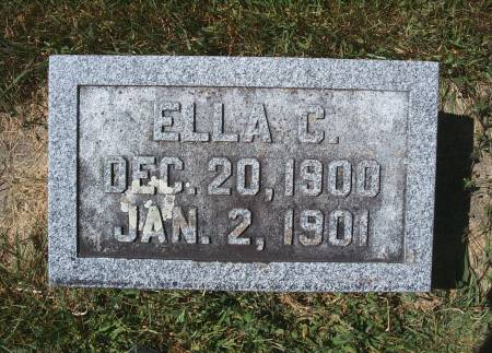 SCHLAWIN, ELLA C - Hancock County, Iowa | ELLA C SCHLAWIN
