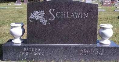 SCHLAWIN, ARTHUR H - Hancock County, Iowa | ARTHUR H SCHLAWIN