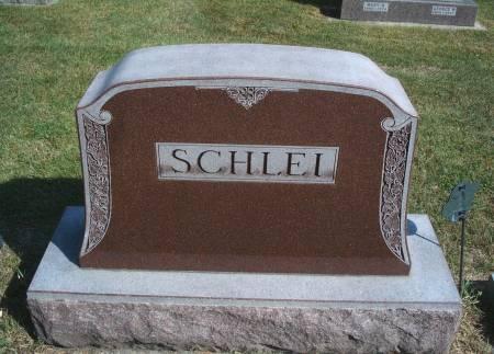 SCHLEI, FAMILY MONUMENT - Hancock County, Iowa | FAMILY MONUMENT SCHLEI