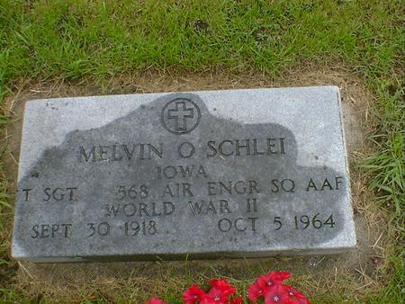 SCHLEI, MELVIN O - Hancock County, Iowa | MELVIN O SCHLEI