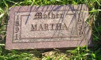 SCHLICHTING, MARTHA - Hancock County, Iowa   MARTHA SCHLICHTING