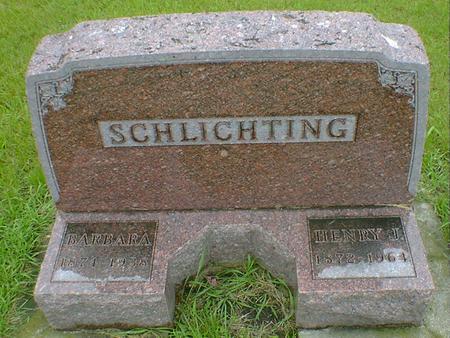 SCHLICTING, BARBARA - Hancock County, Iowa | BARBARA SCHLICTING