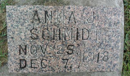 SCHMIDT, ANNA J - Hancock County, Iowa | ANNA J SCHMIDT