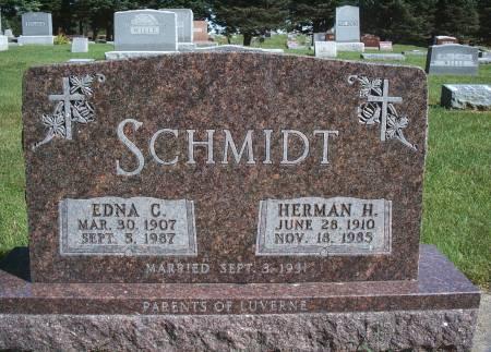 SCHMIDT, EDNA C - Hancock County, Iowa | EDNA C SCHMIDT