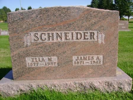 SCHNEIDER, JAMES A - Hancock County, Iowa | JAMES A SCHNEIDER