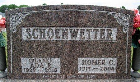 SCHOENWETTER, HOMER C - Hancock County, Iowa   HOMER C SCHOENWETTER