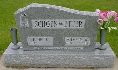 SCHOENWETTER, MILVERN W - Hancock County, Iowa   MILVERN W SCHOENWETTER