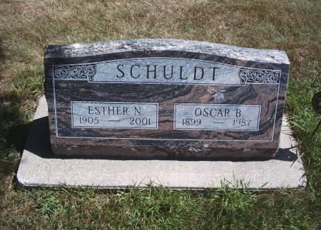NIELSEN SCHULDT, ESTHER N - Hancock County, Iowa | ESTHER N NIELSEN SCHULDT