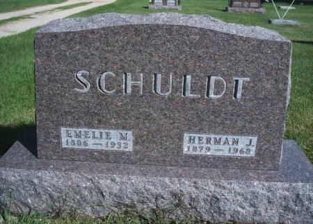 HAUPT SCHULDT, EMELIE M - Hancock County, Iowa | EMELIE M HAUPT SCHULDT