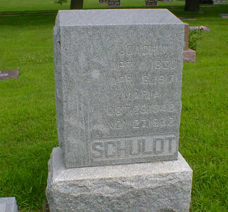 SCHULDT, JOACHIM - Hancock County, Iowa | JOACHIM SCHULDT