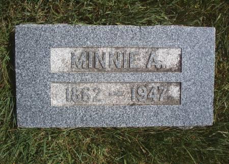 SCHULDT, MINNIE A - Hancock County, Iowa | MINNIE A SCHULDT