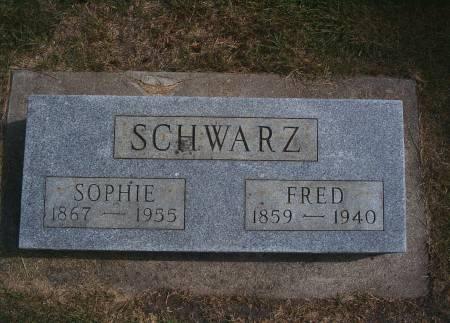 SCHWARZ, FRED - Hancock County, Iowa | FRED SCHWARZ