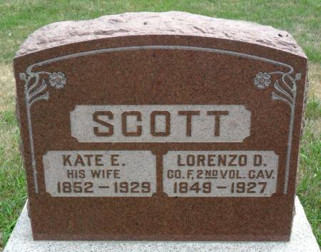 SCOTT, KATE E - Hancock County, Iowa | KATE E SCOTT