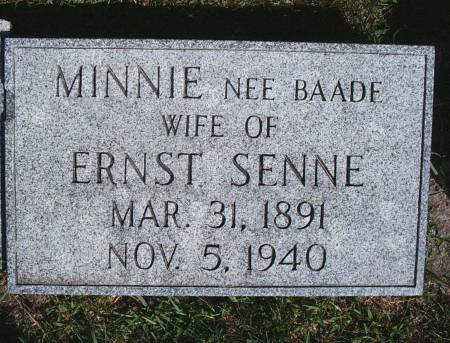 SENNE, MINNIE - Hancock County, Iowa | MINNIE SENNE