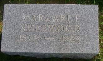 SHERWOOD, MARGARET - Hancock County, Iowa   MARGARET SHERWOOD