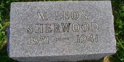 SHERWOOD, W LEON - Hancock County, Iowa | W LEON SHERWOOD