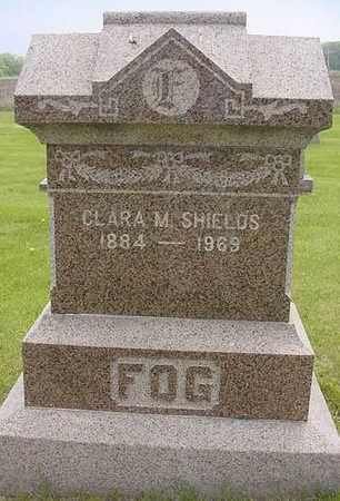 SHIELDS, CLARA M - Hancock County, Iowa | CLARA M SHIELDS