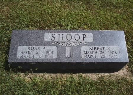 SHOOP, ROSE A - Hancock County, Iowa | ROSE A SHOOP