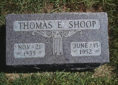 SHOOP, THOMAS E - Hancock County, Iowa | THOMAS E SHOOP