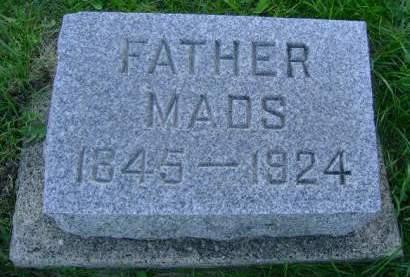 SKOW, MADS - Hancock County, Iowa   MADS SKOW