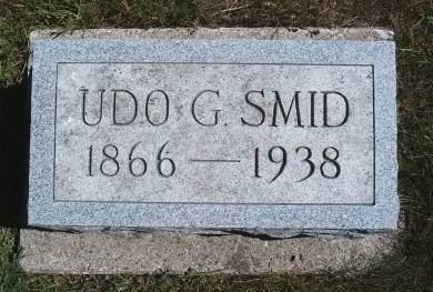 SMID, UDO G - Hancock County, Iowa | UDO G SMID