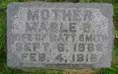 SMITH, MABLE B - Hancock County, Iowa | MABLE B SMITH