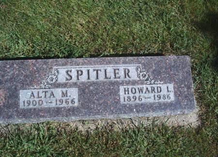 HOWARD SPITLER, ALTA M - Hancock County, Iowa | ALTA M HOWARD SPITLER
