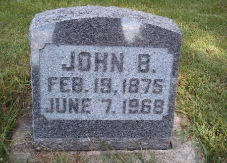 SPITLER, JOHN B - Hancock County, Iowa | JOHN B SPITLER