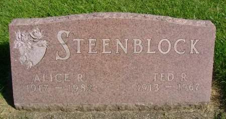 STEENBLOCK, ALICE R - Hancock County, Iowa | ALICE R STEENBLOCK
