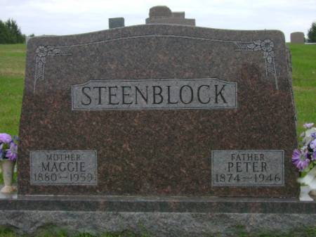 STEENBLOCK, PETER - Hancock County, Iowa | PETER STEENBLOCK