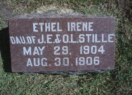 STILLE, ETHEL I - Hancock County, Iowa | ETHEL I STILLE