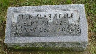 STILLE, GLEN A - Hancock County, Iowa   GLEN A STILLE
