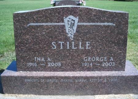 STILLE, GEORGE A - Hancock County, Iowa | GEORGE A STILLE