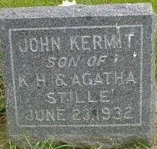 STILLE, JOHN KERMIT - Hancock County, Iowa | JOHN KERMIT STILLE