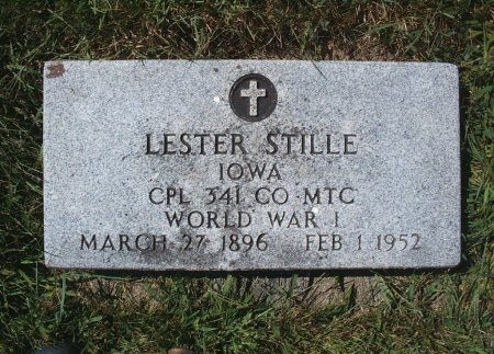 STILLE, LESTER - Hancock County, Iowa | LESTER STILLE
