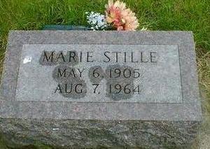 STILLE, MARIE - Hancock County, Iowa | MARIE STILLE