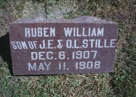 STILLE, RUBEN W - Hancock County, Iowa | RUBEN W STILLE