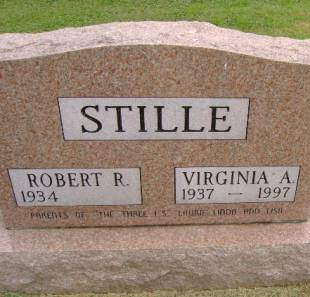 STILLE, VIRGINIA A - Hancock County, Iowa | VIRGINIA A STILLE