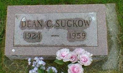 SUCKOW, DEAN C - Hancock County, Iowa   DEAN C SUCKOW