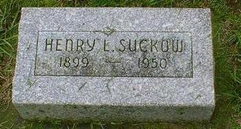 SUCKOW, HENRY L - Hancock County, Iowa   HENRY L SUCKOW