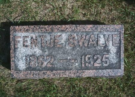 SWALVE, FENTJE - Hancock County, Iowa | FENTJE SWALVE