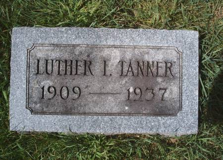 TANNER, LUTHER I - Hancock County, Iowa | LUTHER I TANNER