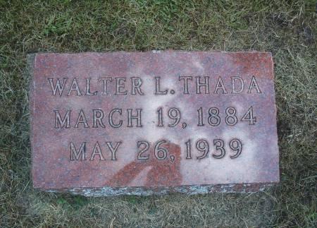 THADA, WALTER L - Hancock County, Iowa   WALTER L THADA