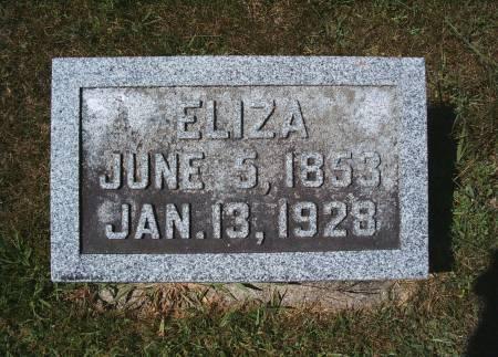 THIEMANN, ELIZA - Hancock County, Iowa | ELIZA THIEMANN