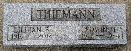 THIEMANN, EDWIN H - Hancock County, Iowa   EDWIN H THIEMANN