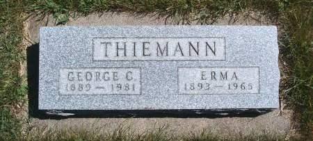 THIEMANN, ERMA - Hancock County, Iowa | ERMA THIEMANN