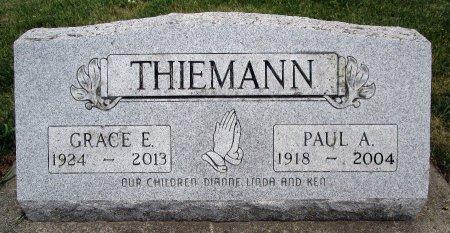 THIEMANN, PAUL A - Hancock County, Iowa | PAUL A THIEMANN