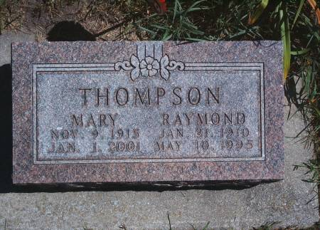 THOMPSON, RAYMOND - Hancock County, Iowa | RAYMOND THOMPSON