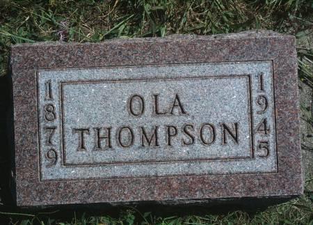 THOMPSON, OLA - Hancock County, Iowa   OLA THOMPSON