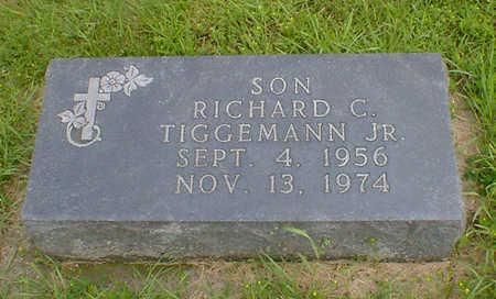 TIGGEMANN, RICHARD C JR - Hancock County, Iowa | RICHARD C JR TIGGEMANN